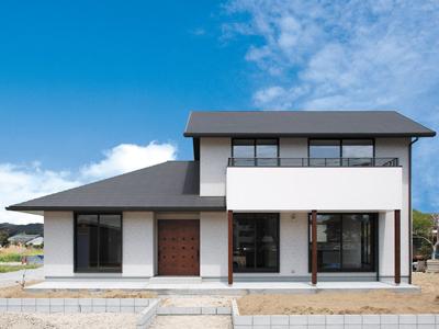 生活動線を確保 和モダンのシンプルデザインな戸建