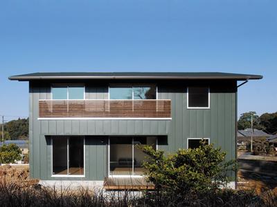 機能性にこだわったシンプルデザインの新築施工例