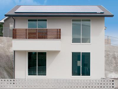 スマート&クール 実際以上の広さを感じる室内空間の家